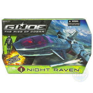 G.I.JOE Night Raven with Air-Viper v1