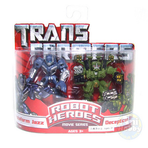 TRANSFORMER JAZZ & BRAWL