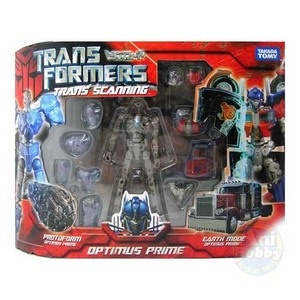 TRANSFORMER OPTIMUS PRIME TRANS SCANNING