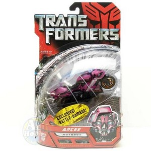 TRANSFORMER ARCEE Battle-Damage Ver