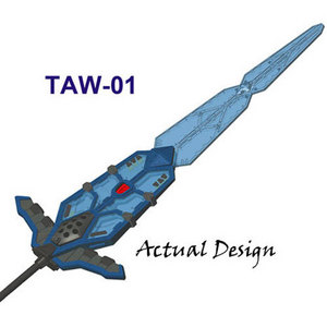 Transformers TAW GOD SWORD - TAW-01 (옵티머스프라임용)